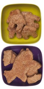 Dog Treats on plates